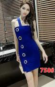 Dress import 758 blue