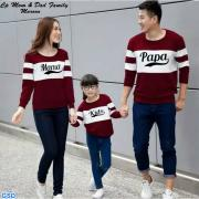 Cp Mom Dad family Maroon