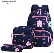 Tas Saiming Queen 3in1 navy