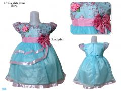 Dress kids ilona biru
