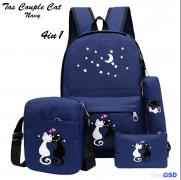 Tas couple cat 4in1 navy