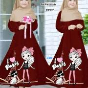 Set paris kids maroon