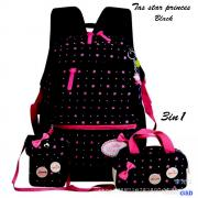 Tas star princes 3in1 black