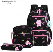Tas Saiming Queen 3in1 hitam