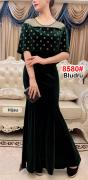 Longdress import 8580 hijau