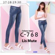 Celana jeans 768 lis mute