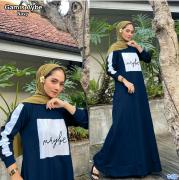 Gamis aybe navy
