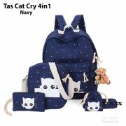 Tas cat cry 4in1 navy