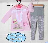 Set Pretty Girl 3in1 pink