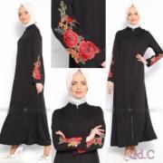 maxi hijab rose