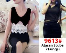 Blouse import 9613 black