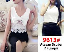 Blouse import 9613 white