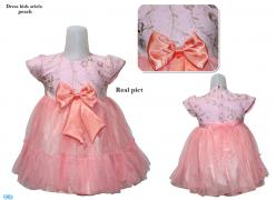 Dress kids ariela peach
