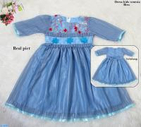 Dress kids venesia biru