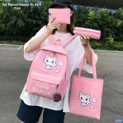 Tas Ransel Happy Sc 4in1 pink