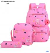 Tas Saiming Queen 3in1 pink