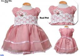 Dress Bayi Nita dusty