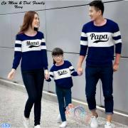 Cp Mom Dad family navy