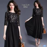 Dress Alegria hitam