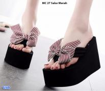 Sandal MC 27 salur red