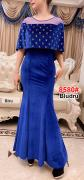 Longdress import 8580 biru