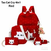 Tas DOT cat cry 4in1 red