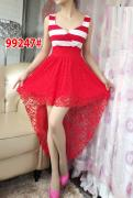 Dress import 99247 red red