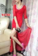 Dress import 9318 red