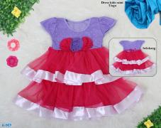 Dress kids raini ungu
