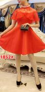 Dress import 1852 red
