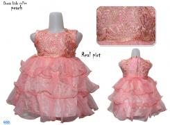 Dress kids collen peach