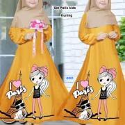set paris kids kuning