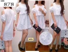 Dress import 878 white