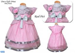 Dress Kids Prina pink muda