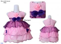 Dress kids haruni pink