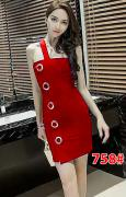 Dress import 758 red
