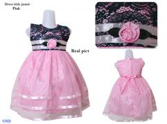 Dress kids jannie pink