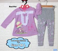 Set Pretty Girl 3in1 ungu