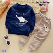 Set smile elep navy