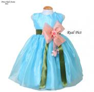 Dress Joane Kids biru