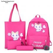 Tas Ransel Happy Sc 4in1 fanta