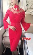 Dress import 7795 red