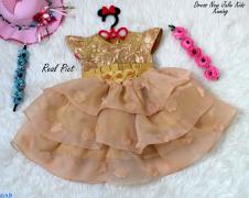 Dress New Julie Kids Kuning