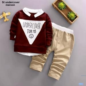 St undercover maroon