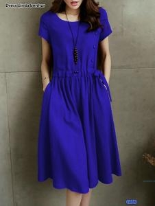 Dress linda navy