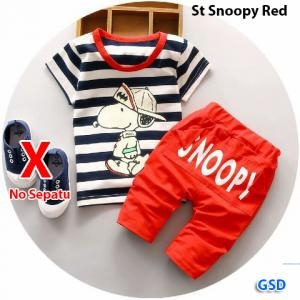 St snoopy red