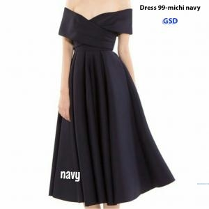 Dress 99-michi navy