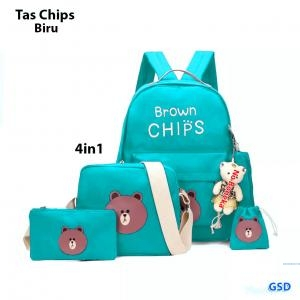 Tas chips 4in1 biru